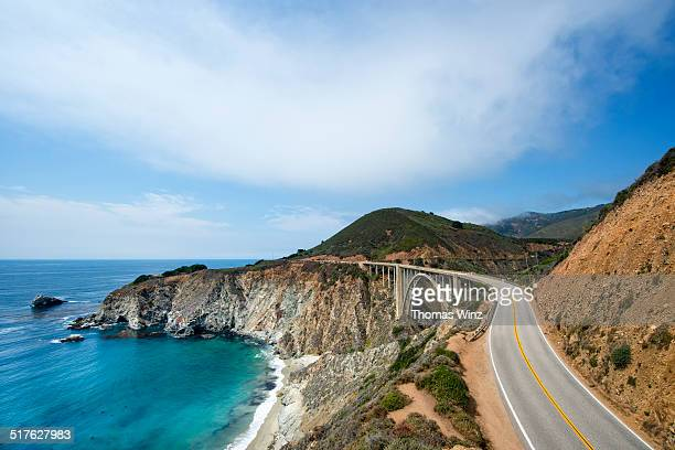 highway 1 near big sur - california stock pictures, royalty-free photos & images
