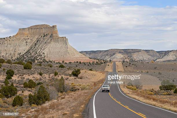 Highway 12 in Cannon Ville on the edge of Bryce Canyon National Park, Utah, USA