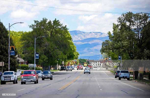 S Highway 191 runs through the center of Blanding Utah just out side of the Bears Ears National Monument on May 12 2017 Many locals fear the new...