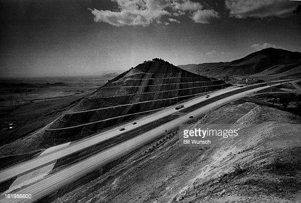 APR 14 1972 MAY 7 1972 Highway 70 Hidden mysteries of nature are exposed by cutting Interstate 70 through the hogback south of Golden The once flat...