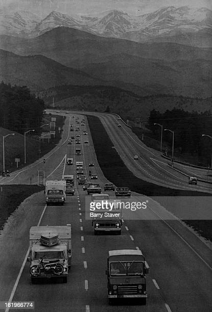 MAY 27 1974 MAY 28 1974 APR 2 1975 APR 5 1975 Highway 70 Holiday Travelers Heading Home Memorial Day travelers stream eastward from the Colorado...