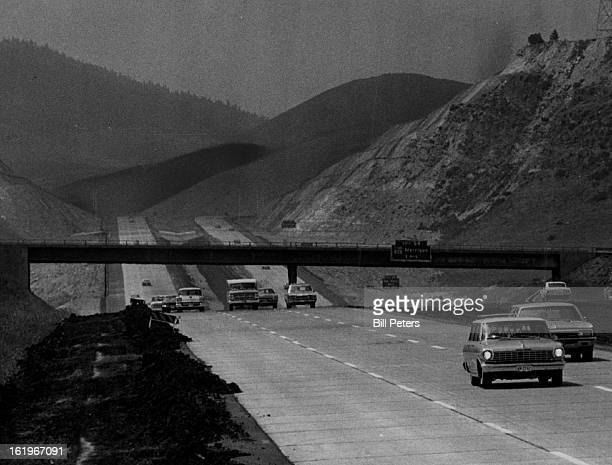 AUG 2 1969 AUG 3 1969 Highway 70 New Section of I70 Opened Motorists Saturday morning drove on a new section of Interstate 70 which was opened at 7...