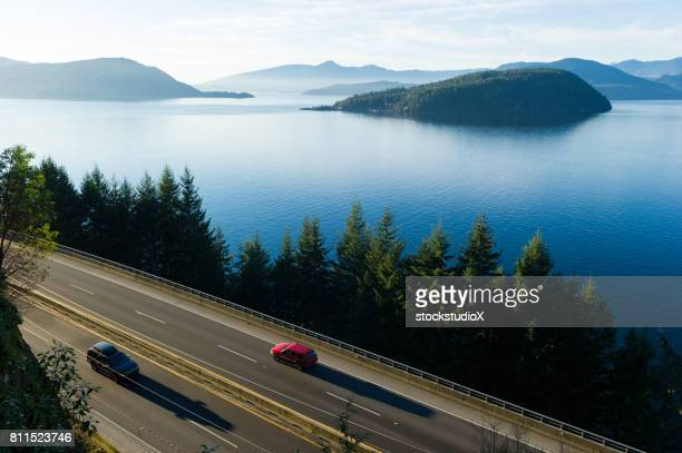 highway 99 in summer - coastline stock pictures, royalty-free photos & images