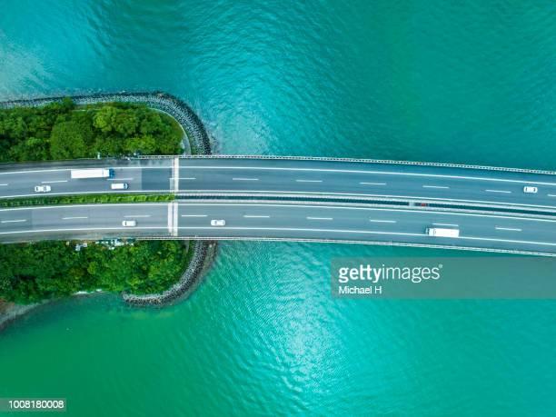 Highway across the ocean