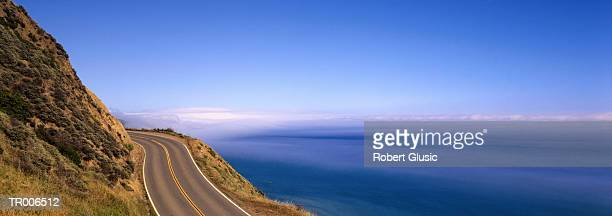 Highway along California Coast