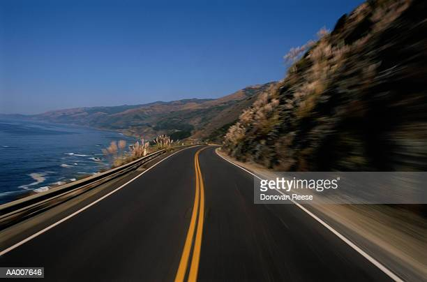 Highway Along the Ocean