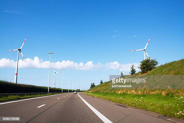 Highway and wind wheels