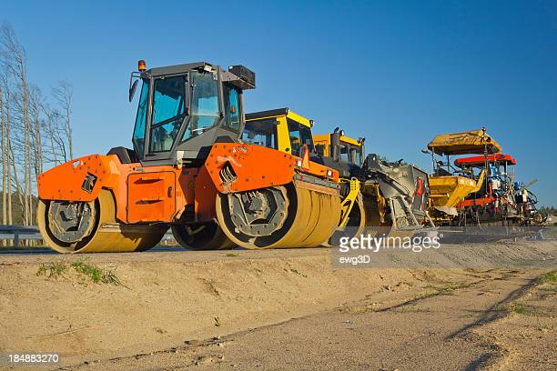 Highway construction equipment