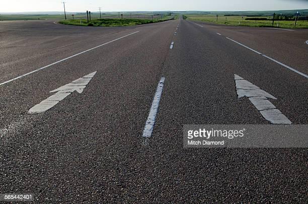 highway directional arrows