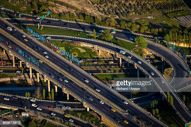 Highway from Milad Tower