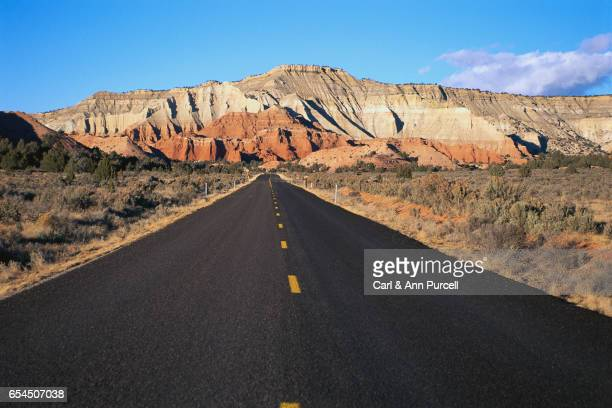 Highway Heading to Bryce Canyon