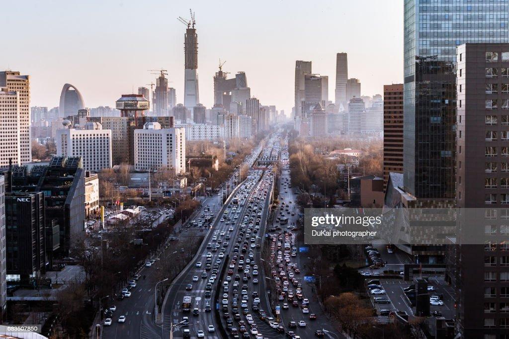 highway in beijing : Stock-Foto