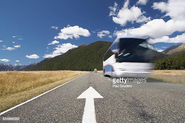 Highway in Fiordland National Park