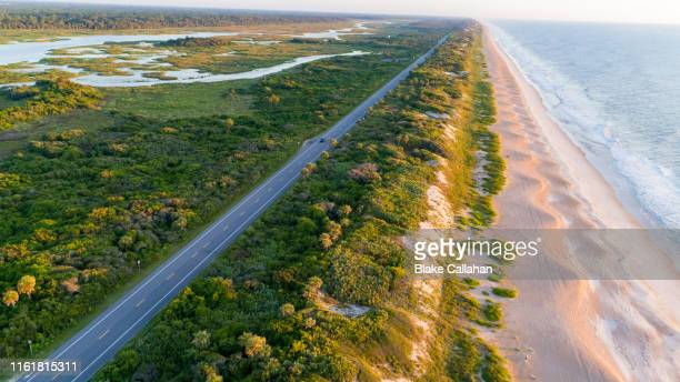 a1a highway in florida - florida usa stock-fotos und bilder