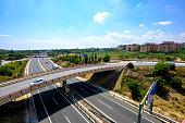 vilaseca tarragona spain ap motorway vicinity