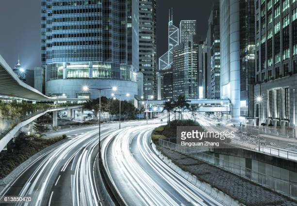Highway in the city