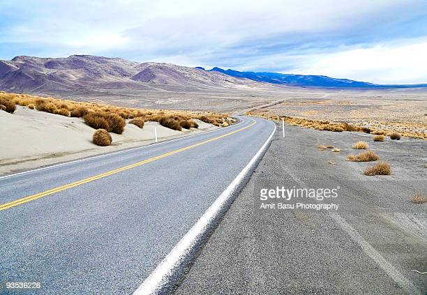 Highway, near Black Rock Desert, Nevada
