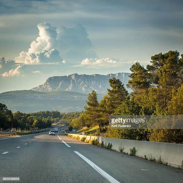 Highway near Faveau