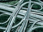 Highway Overpass, Toned Image