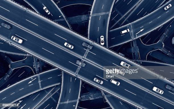 highway - crossroad stock pictures, royalty-free photos & images
