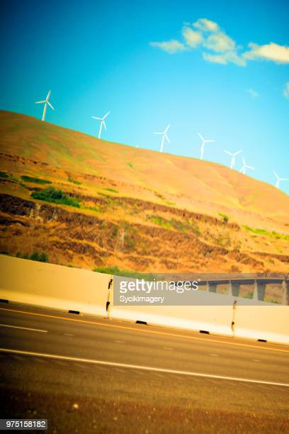 Highway scene in Oregon