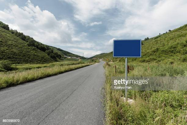 highway sign in rural highway - road sign stock pictures, royalty-free photos & images