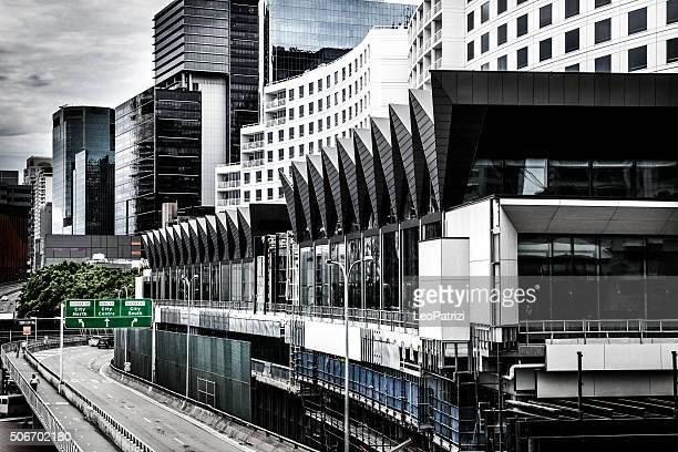 Highway suspended road in Sydney CBD