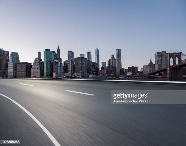 Highway through Manhattan