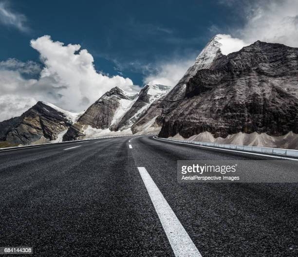 Highway through Snow Mountain