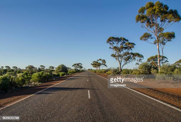 Highway through the desert, Pilbara, Western Australia, Australia