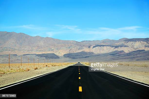 Highway to Death Valley California