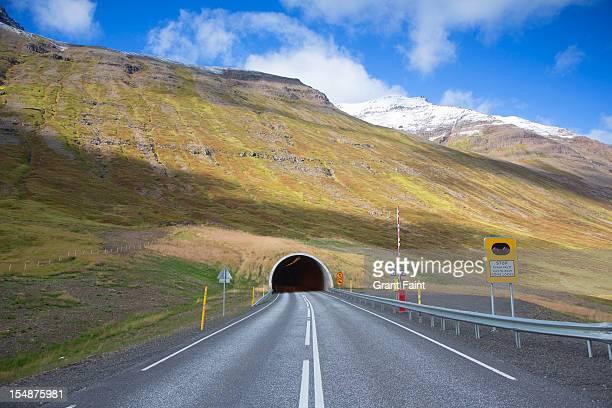 Highway tunnel.
