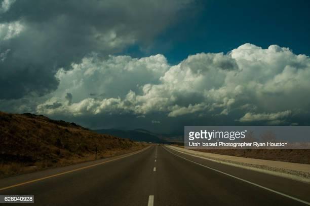 Highway West of Salt Lake Valley