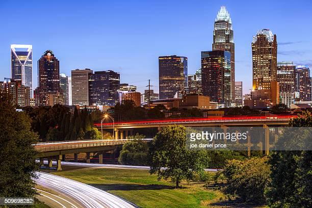 Highways, Charlotte, North Carolina, America