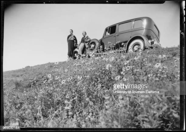 Highways - coast line near Santa Maria, Packard motorlogue, Southern California, 1935.