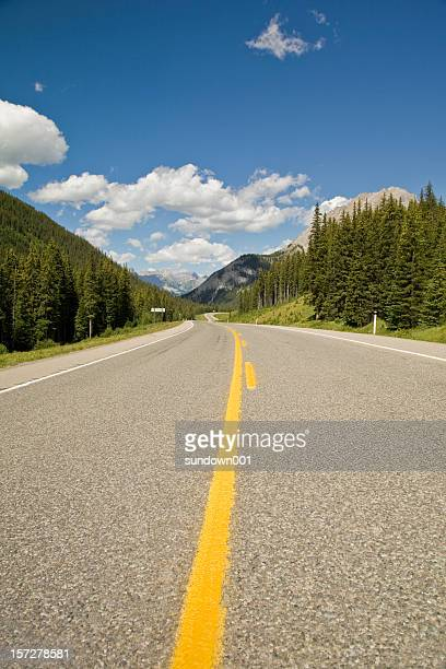 highwood pass - kananaskis country stock pictures, royalty-free photos & images