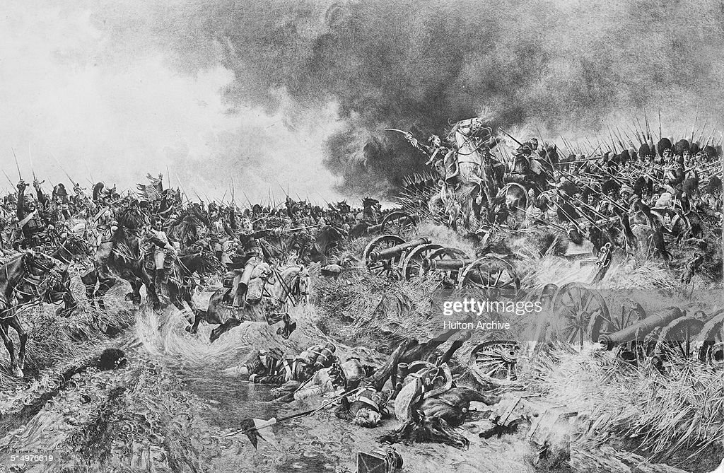 The Battle of Waterloo : News Photo