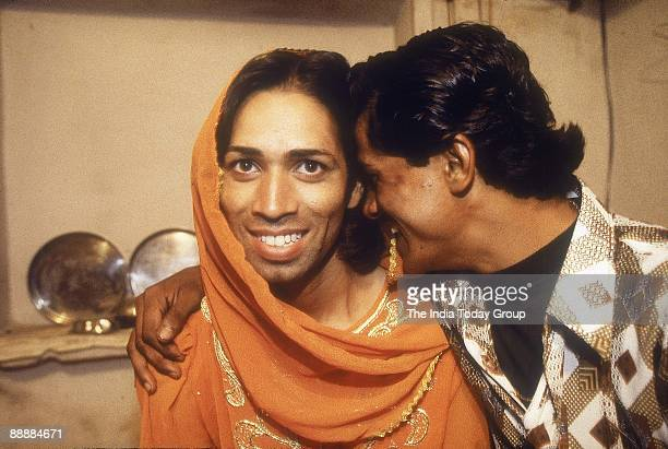 Hijra couple at home