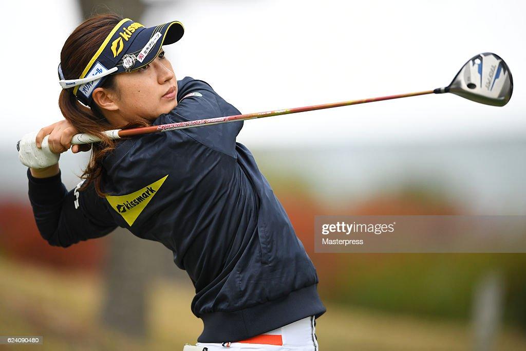 Daio Paper Elleair Ladies Open 2016 - Day 2 : News Photo