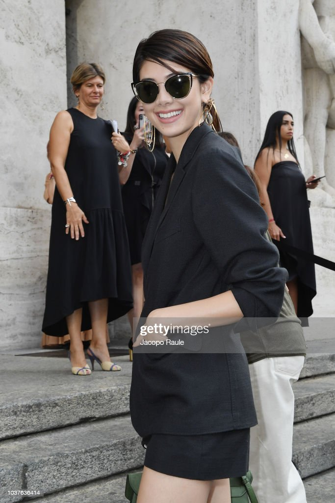 Salvatore Ferragamo - Arrivals - Milan Fashion Week Spring/Summer 2019