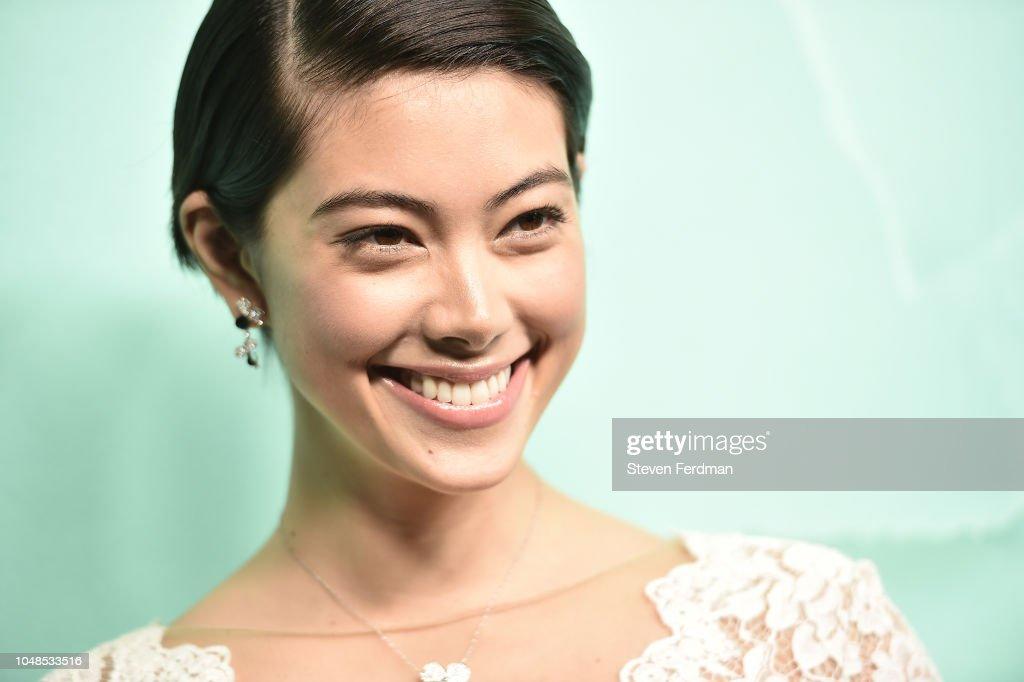 hikari mori teeth 2018 Tiffany & Co. Blue Book Gala : News Photo