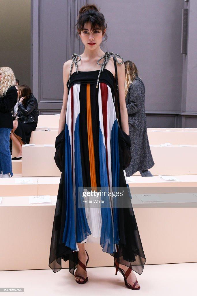 Chloe : Front Row  - Paris Fashion Week Womenswear Fall/Winter 2017/2018