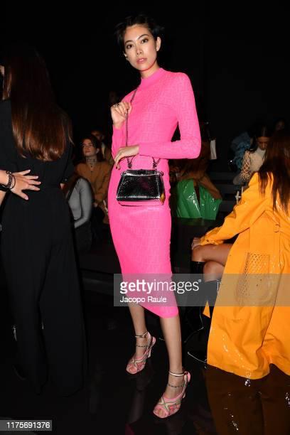 Hikari Mori attends the Fendi fashion show during the Milan Fashion Week Spring/Summer 2020 on September 19 2019 in Milan Italy