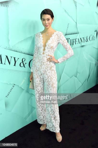 4e1f9d24daca Hikari Mori attends Tiffany Co Celebrates 2018 Tiffany Blue Book Collection  THE FOUR SEASONS OF TIFFANY