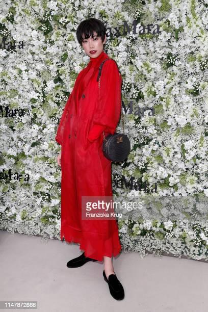Hikari Mori during the Max Mara Resort 2020 Fashion Show at Neues Museum on June 3 2019 in Berlin Germany