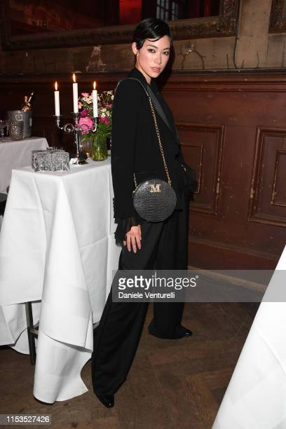 Hikari Mori wearing Max Mara attends the Ute Lemper Performance as part of Max Mara Resort 2020 on June 02 2019 in Berlin Germany