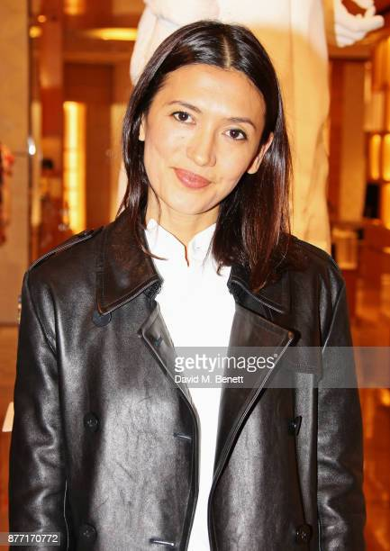 Hikari Yokoyama attends Louis Vuittons Celebration of GingerNutz in Vogue's December Issue on November 21 2017 in London England