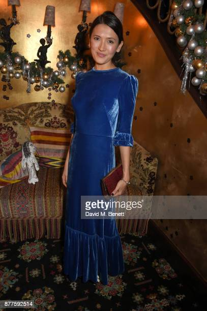 Hikari Yokoyama attends the Nick Cave The Bad Seeds x The Vampires Wife x Matchesfashioncom party at Loulou's on November 22 2017 in London England