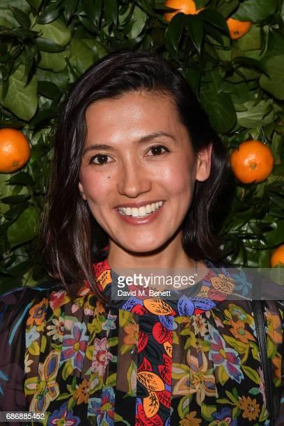 Hikari Yokoyama attends the Tory Burch Regent Street opening on May 22 2017 in London England