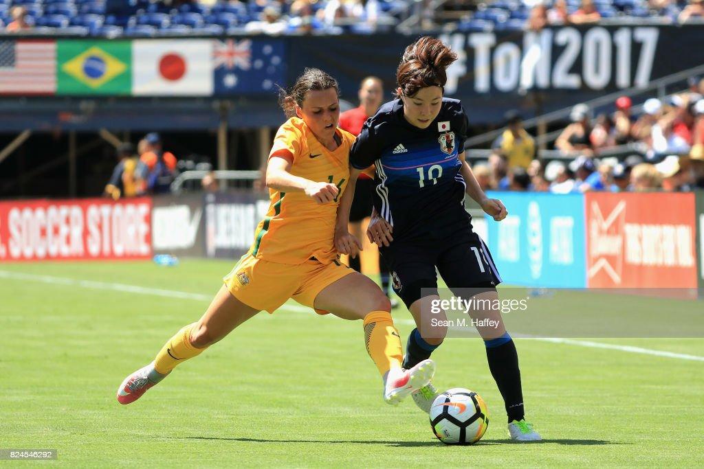 2017 Tournament Of Nations - Australia v Japan